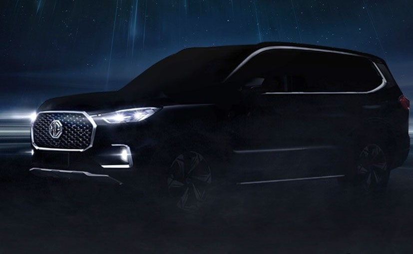 Auto Expo 2020: MG Motor India Teases 7-Seater Hector; Will Be Called Gloster