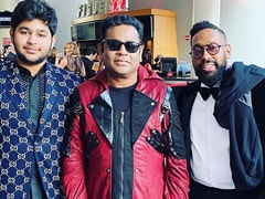 AR Rahman At The Grammys With Son Ameen. What He's Been Posting