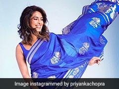 प्रियंका चोपड़ा को साड़ी में देख पति निक जोनास को आया प्यार, Pic पर कमेंट करते हुए बोले...