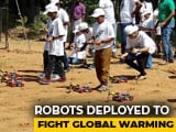 Video : Chennai Students Use Robots To Plant 300 Saplings, Raise Micro-Forest