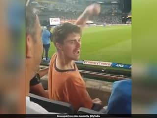 "Video Of New Zealand Fan Chanting ""Bharat Mata Ki Jai"" Goes Viral. Watch"