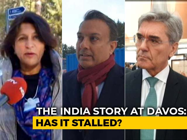 Video : The India Story At Davos: Has It Stalled?