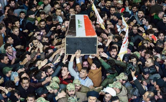Body Of Iran General Arrives For Burial In His Hometown Kerman: Report