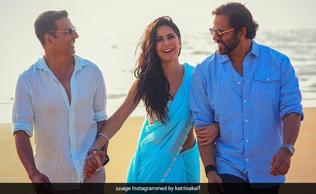 Sooryavanshi: Akshay Kumar, Katrina Kaif And Rohit Shetty Had This Much Fun On The Sets Of The Film