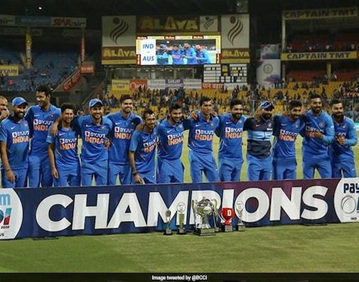 Rohit, Kohli Shine As India Clinch ODI Series Against Australia