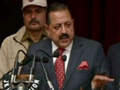 """Boarded Helicopter Only After I Became A Minister,"" Says Jitendra Singh"