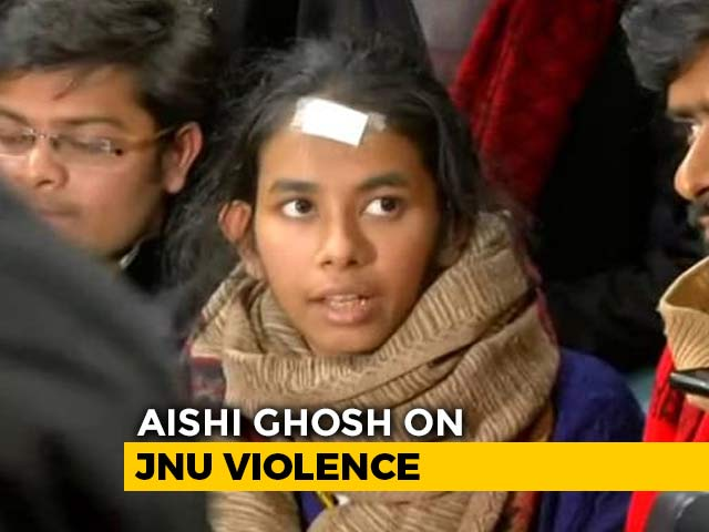 Video: 'Wasn't The One In A Mask': Aishe Ghosh Hits Back At Delhi Police Claims