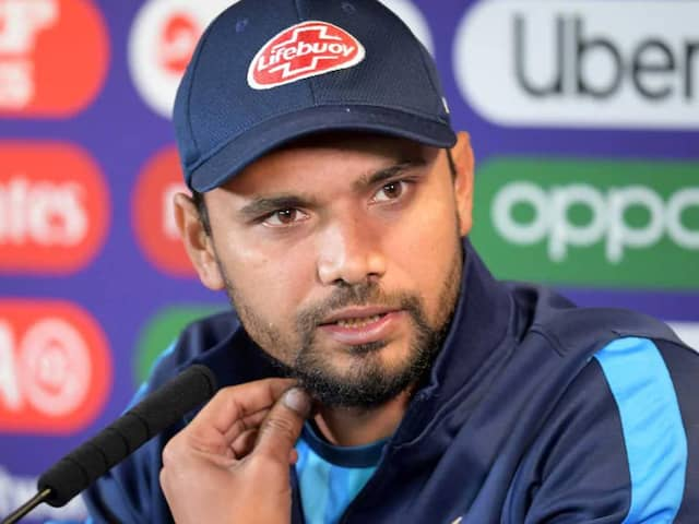 """Why Will I Be Ashamed? Am I A Thief?"": Bangladesh Captain Mashrafe Mortaza Lashes Out At Reporter"