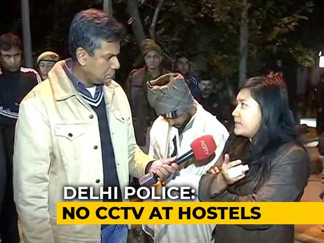 Video : Where Were The Cops When Masked Mob Attacked JNU?