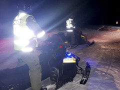 One Dead, 5 Tourists Missing After Snowmobiles Fall Through Ice In Canada