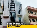 Video : One Dead In Fire At Paper Factory In East Delhi, 32 Engines At Spot