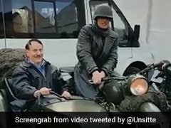 Watch: Man Dressed As Hitler Rides Around Germany In Motorbike Sidecar