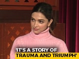 "Video : ""Never Played A Real Life Character Before"": Deepika Padukone On <i>Chhapaak</i>"