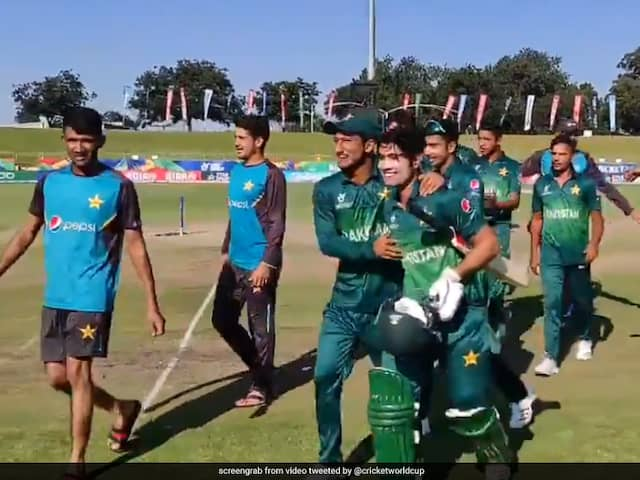 U-19 World Cup: Pakistan Outclass Afghanistan By 6 Wickets, To Face India In Semifinal