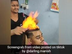 TikTok Viral Video: नाई ने बाल काटने के लिए लड़के के सिर पर लगाई आग और फिर... 4 करोड़ से ज्यादा बार देखा गया वीडियो