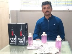 Hyderabad Cop Caught Taking Rs 50,000, Booze As Bribe In Businessman's Car