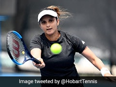 Sania Mirza And Caroline Garcia Enter Dubai Tennis Championships Doubles Pre-Quarters