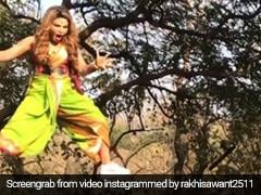 राखी सावंत का शूटिंग के दौरान हुआ बुरा हाल, Video शेयर कर बोलीं- बैंड बजा दी मेरी
