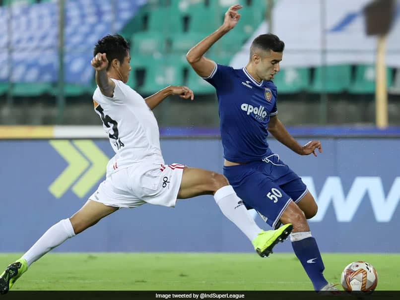 ISL: Wonder Goal Helps Chennaiyin FC Down NorthEast United 2-0. Watch Video