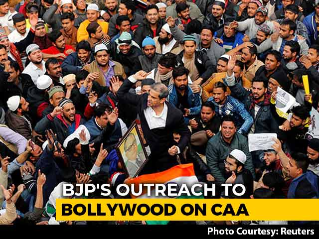 Centre's Bollywood Outreach On Citizenship Law