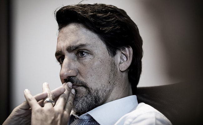 Justin Trudeau's New Beard Makes Waves Online. Take A Look