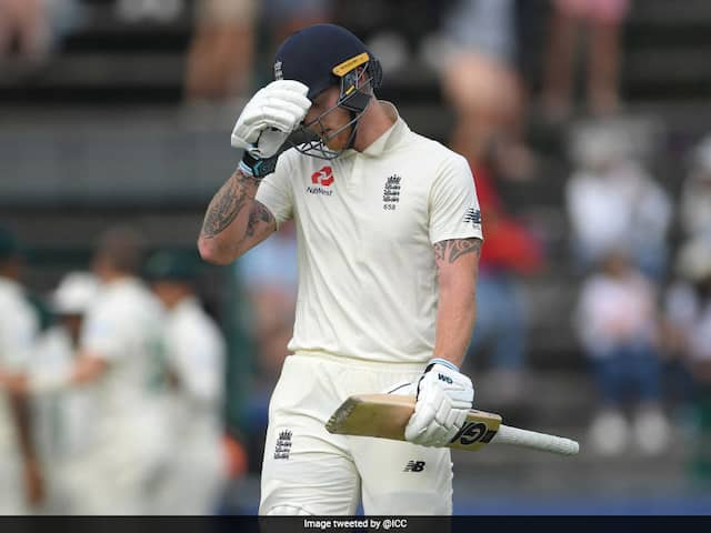 "Ben Stokes Fined, Given Demerit Point For Using ""Audible Obscenity"""