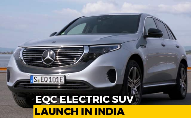 Video : EQC Electric SUV India Launch