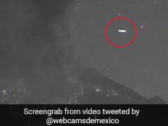 Video: ज्वालामुखी विस्फोट के बाद नजर आया UFO तो ट्विटर पर फिर शुरू हुई Aliens के होने की बहस