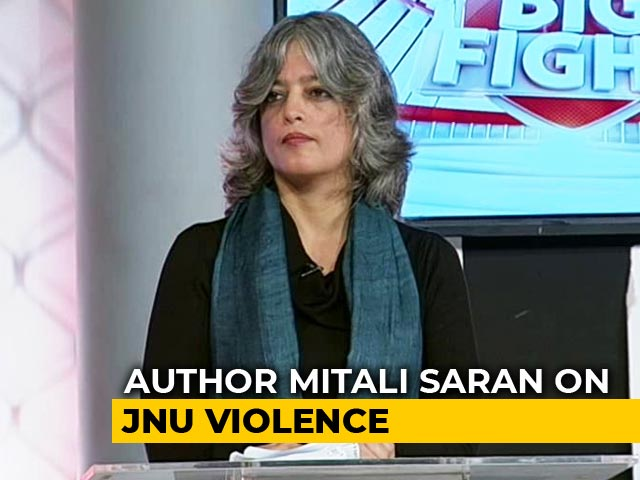 Video : Why Is BJP So Threatened By Students, Asks Author Mitali Saran. BJP Responds