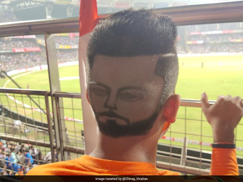 Virat Kohli Fan Wins Internet With Unique Hairstyle ...