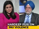 """Video: """"Enquiry Committee To Look Into JNU Violence"""": Minister Hardeep Puri"""