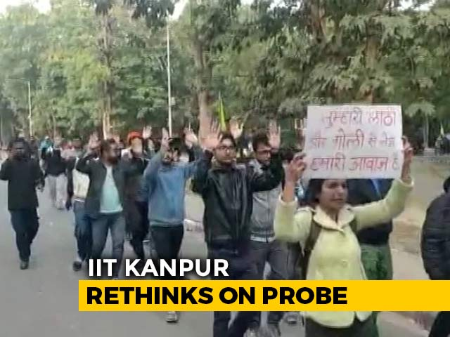 Video : The Latest On IIT-Kanpur's Faiz Shocker: Top Official Walks Back A Claim