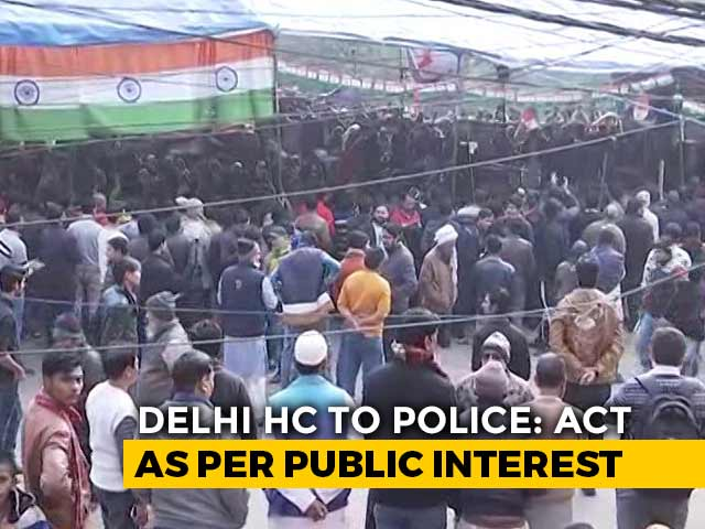 Video : Find Solution To End Road Closure At Kalindi Kunj Over Protest, Cops Told