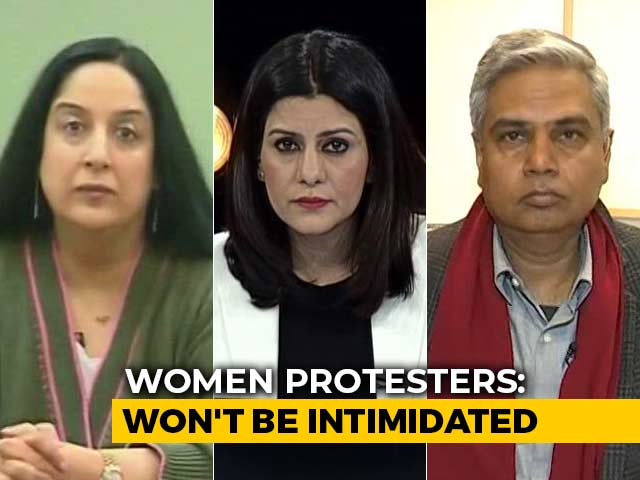 Video : UP Chief Minister Yogi Adityanath Targets Anti-CAA Women Protesters