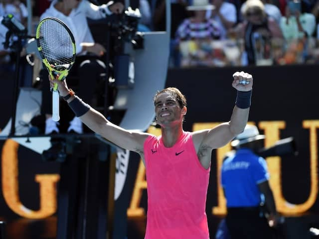 Australian Open: Rafael Nadal Registers Crushing First-Round Win