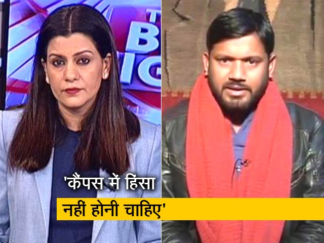 Videos : JNU हिंसा पर कन्हैया कुमार ने NDTV से की खास बातचीत
