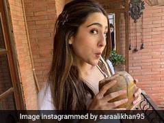 तो ये है सारा अली खान की एनर्जी का राज... एक नारियल पानी से हो जाती हैं हाइड्रेट