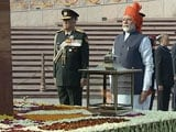 Video : PM Modi Pays Tribute At National War Memorial On Republic Day