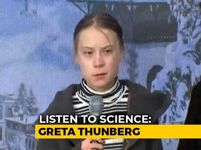 Video : Greta Thunberg To NDTV On Climate Change: 'India, Listen To Science'