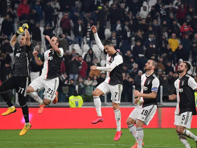 Mums The Word As Cristiano Ronaldo Fires Juventus Into Italian Cup Semi-Finals