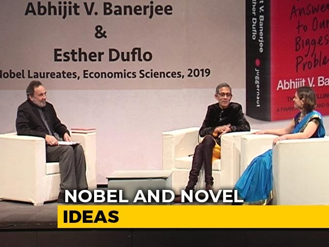 Video : Prannoy Roy In Conversation With Nobel Laureates Abhijit Banerjee, Esther Duflo