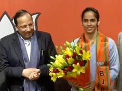 "Saina Nehwal, ""Inspired By Narendra Sir"", Joins BJP Ahead Of Delhi Polls"