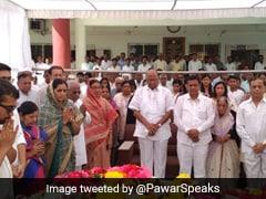 NCP प्रमुख शरद पवार ने डीपी त्रिपाठी के निधन पर जताया शोक, बताया निजी क्षति