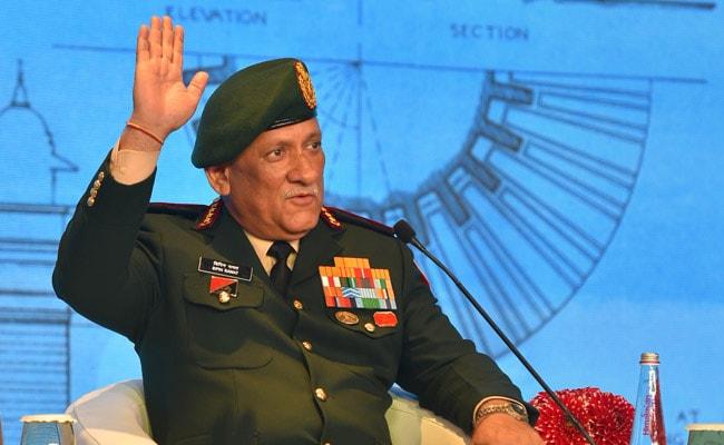 General Bipin Rawat Downplays China's Presence In Indian Ocean