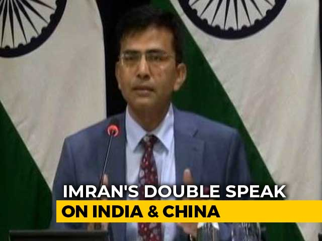 "Video : ""He Is Desperate"": India Slams Imran Khan For Raising Kashmir At Davos"
