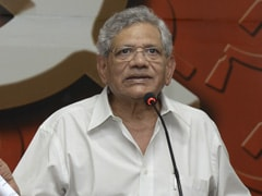 Fast-Tracking COVID Vaccine Only For Independence Day Announcement: Sitaram Yechury