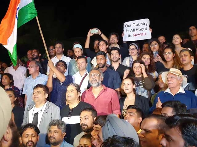 Bollywood's Protest Ends With The National Anthem