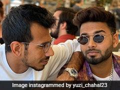 Yuzvendra Chahal Shares Pictures With Rishabh Pant, Danielle Wyatt