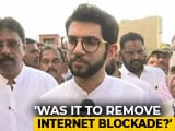 "Video : ""Need To See Intent"": Aaditya Thackeray On ""Free Kashmir"" Poster Row"