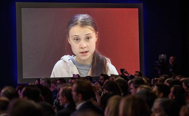 Davos Sees Veiled Exchange Between Greta Thunberg, Trump. But No Face-Off